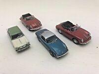 4 x Joblot Oxford Diecast Porche Lotus Triumph Vintage