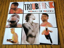 "TROUBLE FUNK - WOMAN OF PRINCIPLE  7"" VINYL PS"