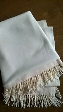 100% Wool Beautiful Blanket / Throw by DORMA made in UK