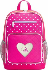 """Officially Licensed NFL """"Fanclub"""" Backpack, Pink, 18"""" Cleveland Browns"""