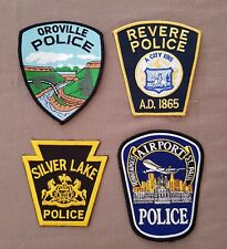 USA - 4 x Different  Police Patches #52