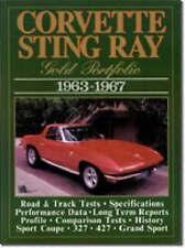 Corvette Sting Ray Gold Portfolio, 1963 - 1967  by R. M. Clarke - Motoring Cars