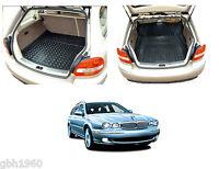3pc modular rubber boot liner load mat bumper protector Jaguar X-Type estate