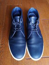 Clae: Strayhorn-Para Hombre de Cuero Boot-UK 9 (43)/Azul C/Caja Orig. - 2011