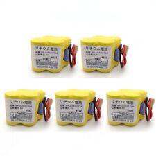 5Pcs Br-2/3Agct4A 6V Plc Battery For Fanuc A98L-0031-0025 Cnc System with Plug