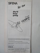 5/1973 PUB SFENA VELIZY STATIC INVERTER GYROSCOPIC HORIZON ORIGINAL AD