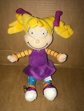 Nickelodeon Rugrats Angelica Pickles Plush Soft Toy Girl Doll - Viacom Gosh 2001