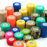 Sport Self Adhesive Elastic Bandage Wrap Tape Care First Aid Medical Support Pad