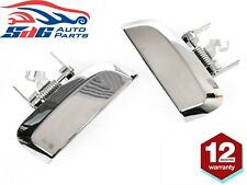 Pair REAR Outer LH+RH Door Handle Chrome For Nissan Pathfinder R51 2005-2013