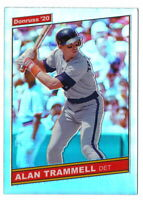ALAN TRAMMELL 2020 OPTIC 1986 SILVER PRIZM HOLO #R86-7