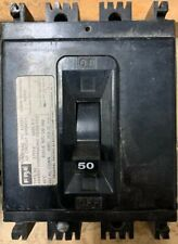 Federal Pacific Electrical, 50 Amp Circuit Breaker, Type Ne, 3 Pole, 240 Volt