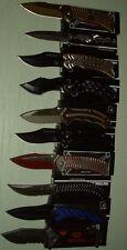 Lot of 10 pcs -Spring Assist Folding Knife (1134)