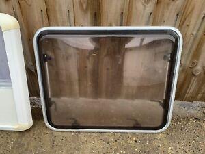 Polyplastic Framed Caravan Window And Cassette Blind, Ideal For Van Conversion