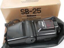 Nikon speedlight af Flash sb-25 af Flash SB - 25 con bolso ss-24 + embalaje original box