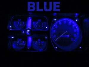 Gauge Cluster LED Dashboard Bulb Blue For Dodge 72 80 Ram D100 - D350 Truck