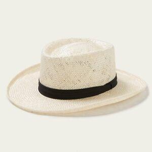 Stetson Muldoon Sisal Straw Gambler Hat