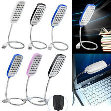 Flexible USB 28 LED Light Reading Lamp Bright Switch For PC Computer Notebook HG