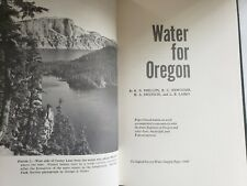 Phillips and others - Water for Oregon - U.S.G.S Water Supply Paper 1649, 1965