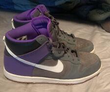 "nike dunk high ""Pure Purple"" Sz 14 Good Condition"