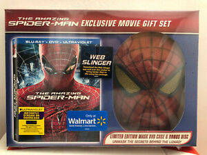 The Amazing Spider-Man (Blu-ray) NEW OOP Wal-Mart Exclusive Gift Set GEM MINT