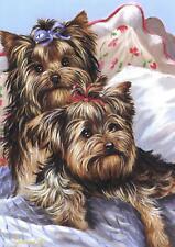 "Precious Pet Garden Flag - Yorkshire Bed Bugs Flag 12"" x 18"" ~ Charity!"