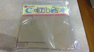 Grafix Chipboard Variety pack Med. Wt.