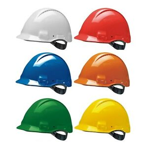 3M Peltor Solaris G3000 CUV Safety Hard Hat Helmet Vented ABS Head Protection