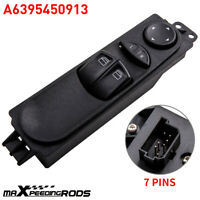 Front Right Master Power Window Switch  for Mercedes W639 Vito/Mixto  6395450913