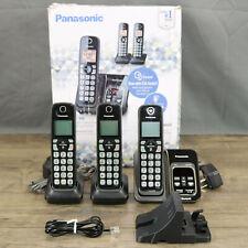 Panasonic KX-TG833SK Cordless Phone Answering Machine System Link2Cell Bluetooth