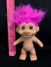 1991 Tnt Troll with Purple Hair and Blue Eyes