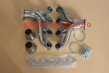 FOR 429/460 FORD SBC SMALL BLOCK HUGGER SHORTY SS EXHAUST RACING HEADER+GASKET