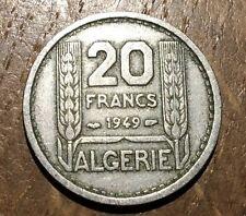 PIECE DE 20 FRANCS TURIN ALGÉRIE 1949 (125)