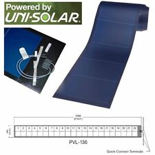 Uni-Solar PVL-136 Watt PowerBond Flexible 24V Solar Panel MC3 & MC4 - FREE SHIP!