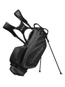 TaylorMade Select Golf Stand Bag - Black/Charcoal   GolfBox