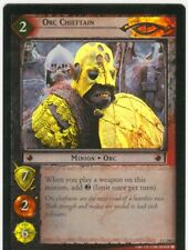 Lord Of The Rings CCG FotR Foil Card 1.C266 Orc Chieftain
