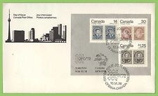 First Day of Issue Canadian Stamps