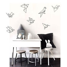 Black Origami papercranes wall sticker Art Vinyl Sticker home decor Living Room