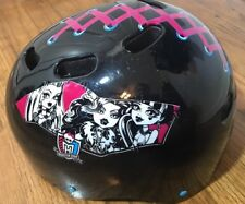 MONSTER HIGH SKATE BOARDING, SKATING, BIKE GIRL'S HELMET 53-56 CM YOUTH 1/12