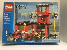 LEGO City Fire Station Set #7240 New But open box, all poly-bags are sealed