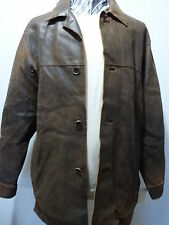 Andrew Marc Distressed Leather Jacket, Brown, Med/Large. NWT