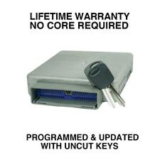 Engine Computer Programmed with Keys 2000 Ford Taurus YU7A-12A650-AGC ZST2