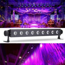 LED 9x3W UV luce nera Bar metallico siicone DJ Party Club Halloween decorazione