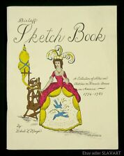 BOOK Women's Dress in America 1774-1783 sketch Klinger Revolutionary War fashion