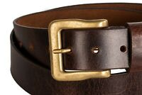 Jeans Style!! 100% Genuine Leather Belt! - Top Quality - For Men - Fashion Belts