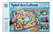 Spiel des Lebens Hellblaue Ausgabe MB Brettspiel Komplett 1972 für 8 Spieler