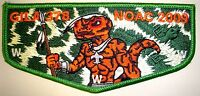 GILA OA LODGE 378 YUCCA COUNCIL TEXAS SCOUT PATCH 78 66 NOAC 2009 FLAP NUTIKET