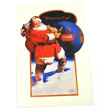 COCA-COLA COCA COLA USA Cartolina Natale di Santa 1943