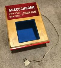 Vintage Anscochrome Store Display Light Box Viewer Ansco Film Photography D453