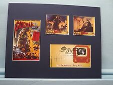 The Monster Movie - Godzilla & First day Cover honoring its star - Raymond Burr