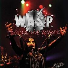 """W.A.S.P. """"DOUBLE LIVE ASSASSINS"""" 2 CD NEUF"""